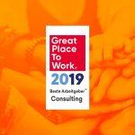 """Great Place to Work® zeichnet HSP STEUER Wirges als """"Beste Arbeitgeber im Consulting 2019"""" aus"""